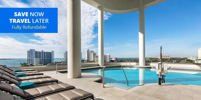 $129 – All-Suite Downtown Sarasota Stay w/Parking -- Sarasota, FL