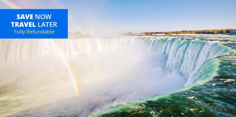 £64 – Niagara Falls 4-Star Marriott incl. Credits, over 45% Off -- Niagara Falls, Canada