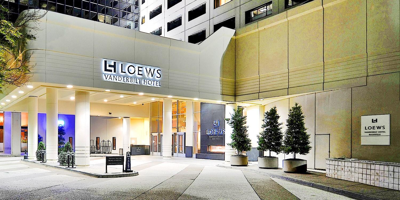 Loews Vanderbilt Hotel -- Nashville, TN