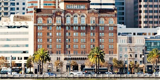 Harbor Court Hotel Financial District Embarcadero San Francisco