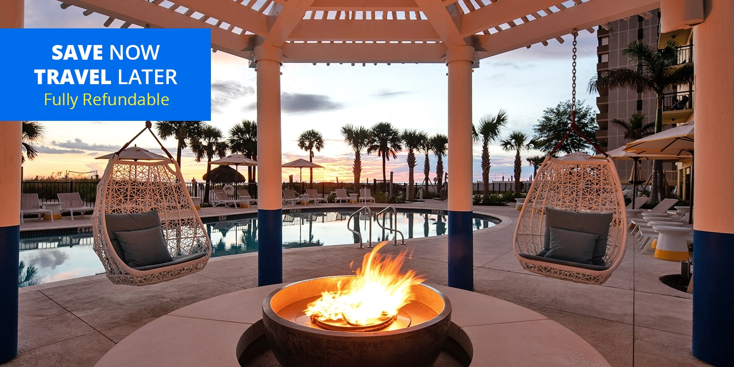 $119 & up – Relax on St. Pete's White Sandy Beaches -- St. Pete Beach, FL