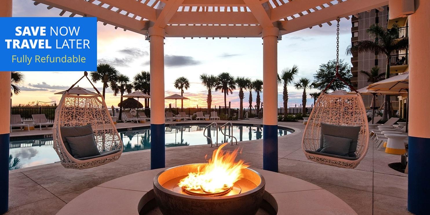 $109 – St. Pete Oceanfront Resort w/Breakfast, 40% Off -- St. Pete Beach, FL