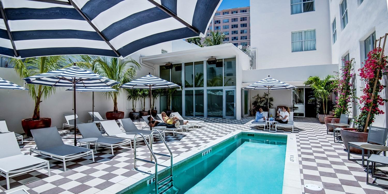 $99 – Miami: South Beach Art Deco Hotel w/Breakfast & Wine -- Miami Beach, FL