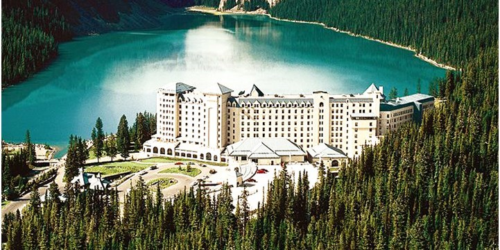 Fairmont Chateau Lake Louise -- Lake Louise, Alberta