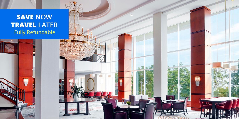£64 – 4-Star Marriott Niagara Falls Stay w/DiningCredits, 40% Off -- Niagara Falls, Canada