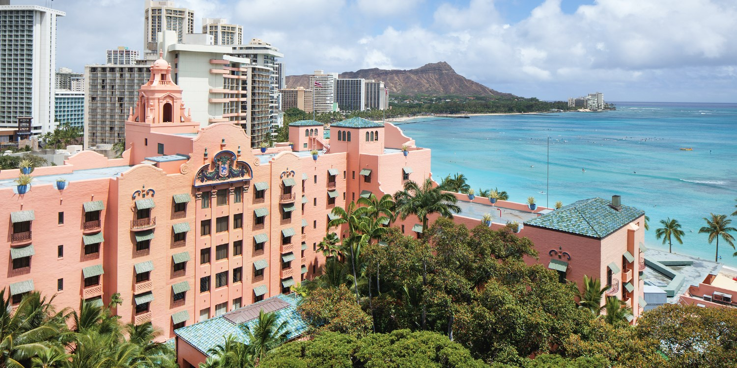 The Royal Hawaiian, a Luxury Collection Resort, Waikiki -- Honolulu, HI