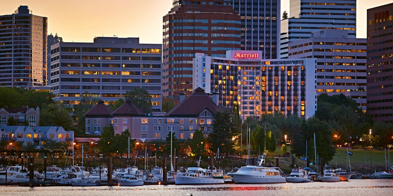 Portland Marriott Downtown Waterfront -- Portland, OR