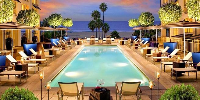Loews Santa Monica Beach Hotel Los Angeles Ca