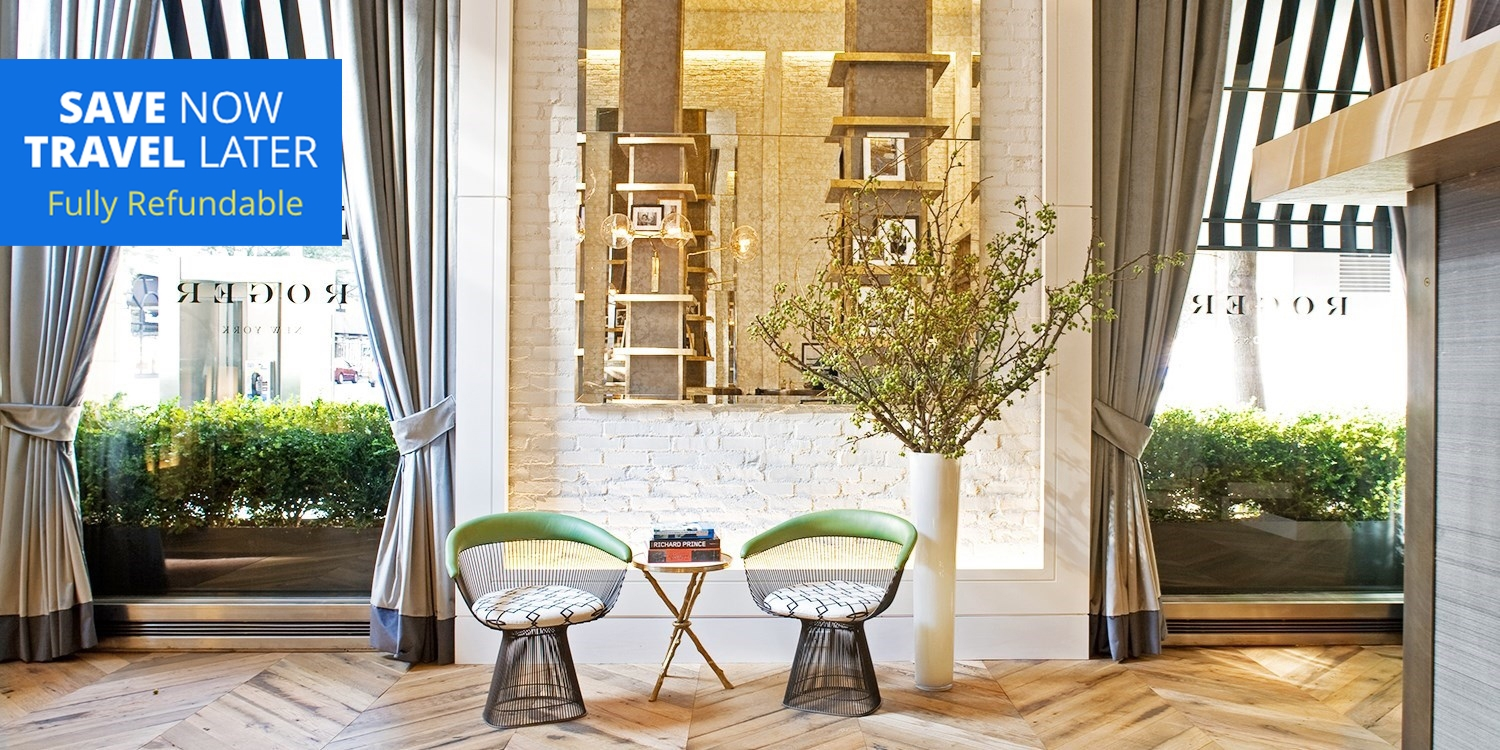 $140 & up – NYC: 4-Star Boutique Hotel into 2021 w/$57 in Perks -- New York City, NY