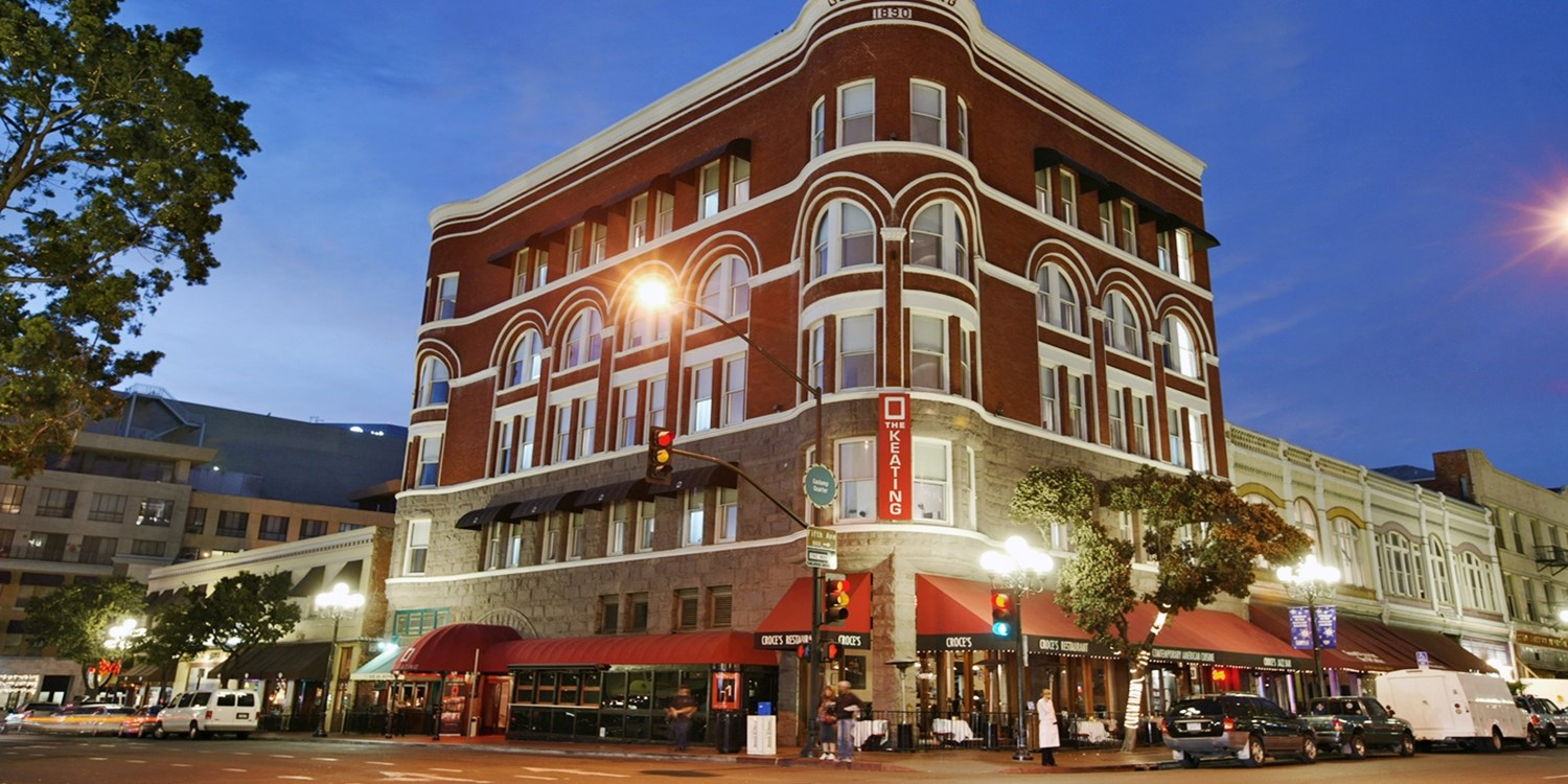 Keating Hotel -- Downtown San Diego - Gaslamp Quarter, San Diego