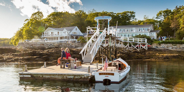 £83 – Waterfront Maine Resort w/Breakfast, 40% Off -- Boothbay Harbor, ME