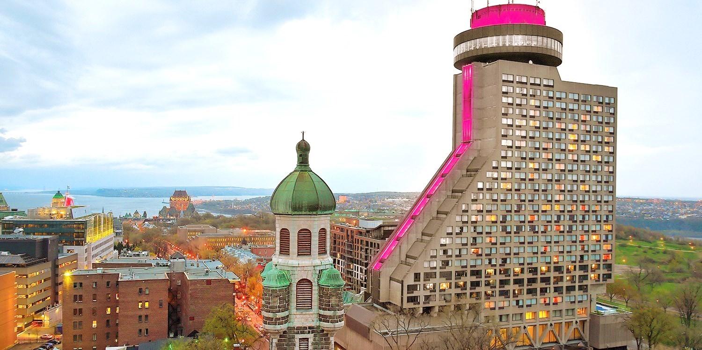 Hotel Le Concorde -- Quebec City, Canada