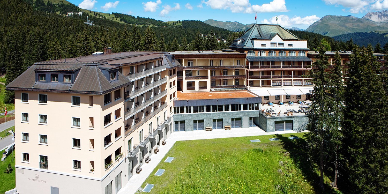 Waldhotel National -- Arosa, Schweiz