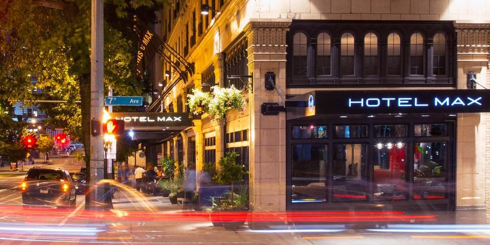 Hotel Max -- Seattle, WA