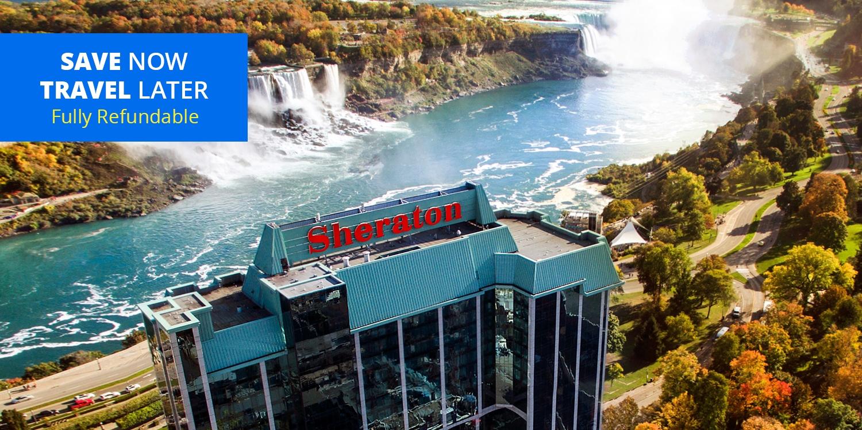 $60 & up – Niagara 4-Star Sheraton incl. Dining Credits, up to 40% Off -- Niagara Falls, Canada