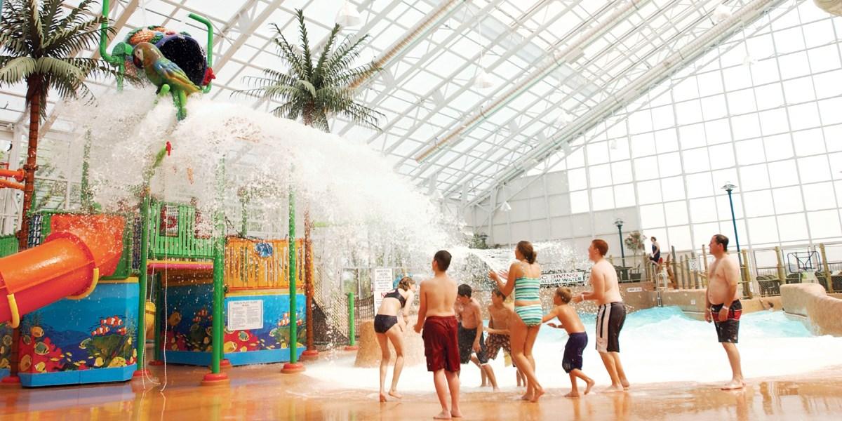 £110 – Niagara Falls: Family Getaway with Water Park Passes, Reg. £208 -- Niagara Falls, Canada