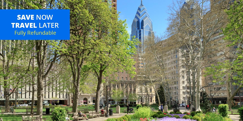 $129 – Downtown Philadelphia 4-Star Hotel, Save 40% -- Center City West, Philadelphia