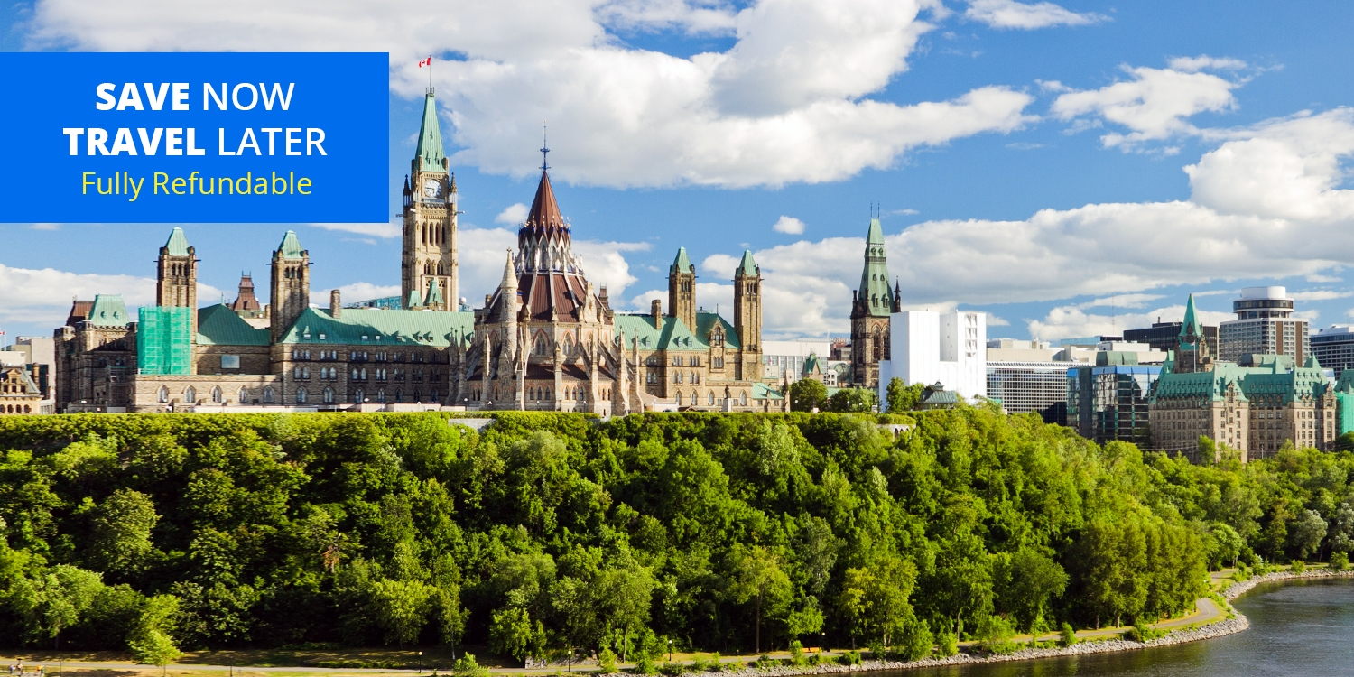 £89-£109 – Ottawa 4-Star Hotel w/Parking through December, up to 35% Off -- Ottawa, Canada