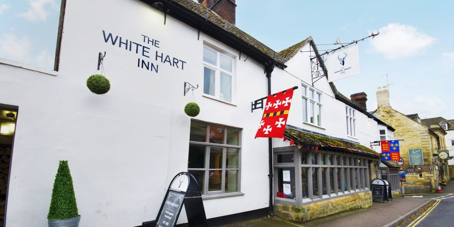 The White Hart Inn -- Winchcombe