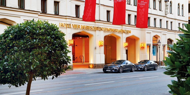 Hotel Vier Jahreszeiten Kempinski München -- Munich, Germany