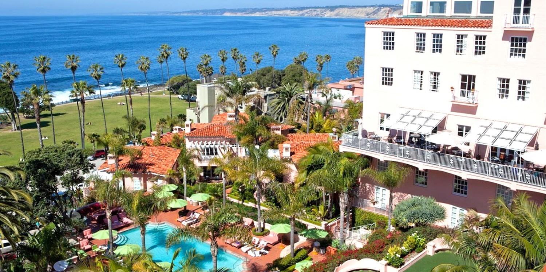 La Valencia Hotel -- La Jolla, San Diego