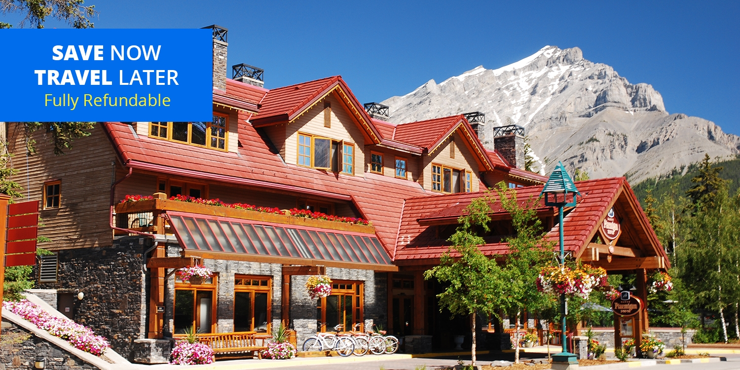 $79 & up – Banff Lodge Spring Stays w/Breakfast & Wine, up to 45% Off -- Banff, Canada