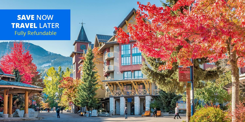 $99-$129 – Whistler GetawayThis Fallincl. Parking -- Whistler, British Columbia