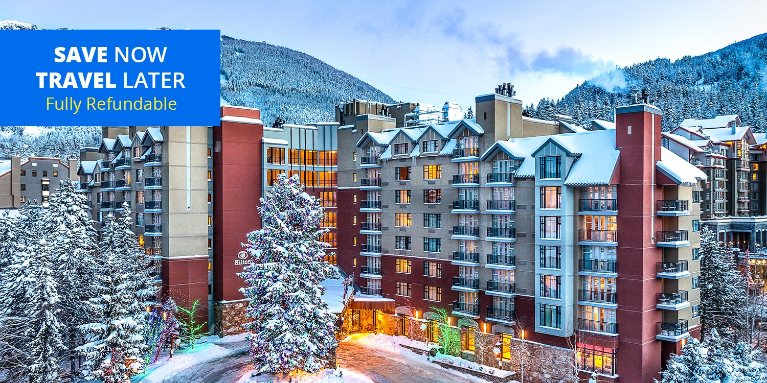 £931 & up – 5-Nights atHilton Whistler incl. Breakfast, Parking & Resort Fee -- Whistler, Canada