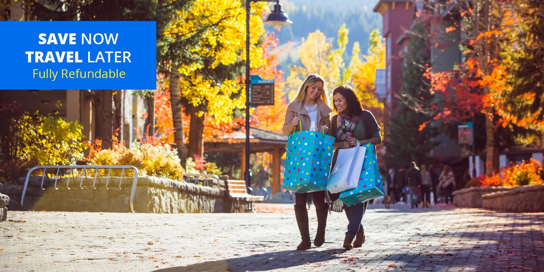 $179 – Whistler:4-Star Hiltonw/Parking & Resort Fee -- Whistler, British Columbia