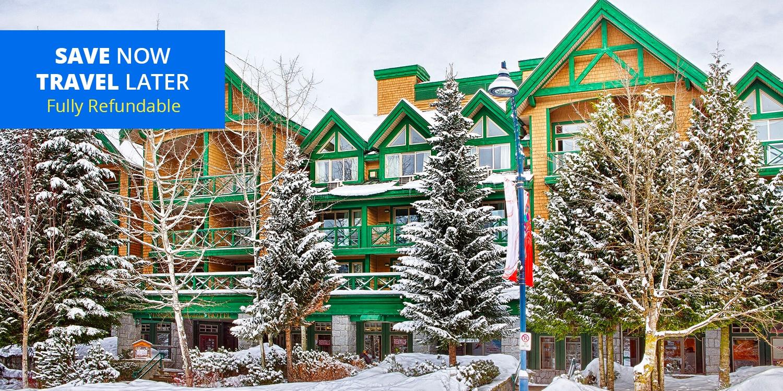$78 – Whistler Village Hotel incl. Parking into Ski Season -- Whistler, Canada