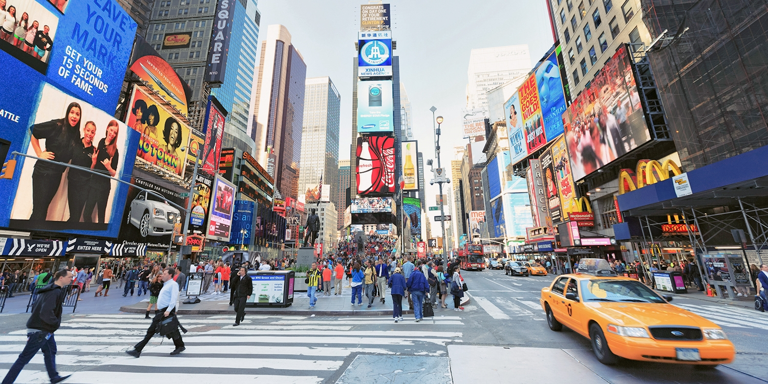 $171 – NYC: Times Square Hotel incl. Weekends, 55% Off -- Midtown - Times Square, New York