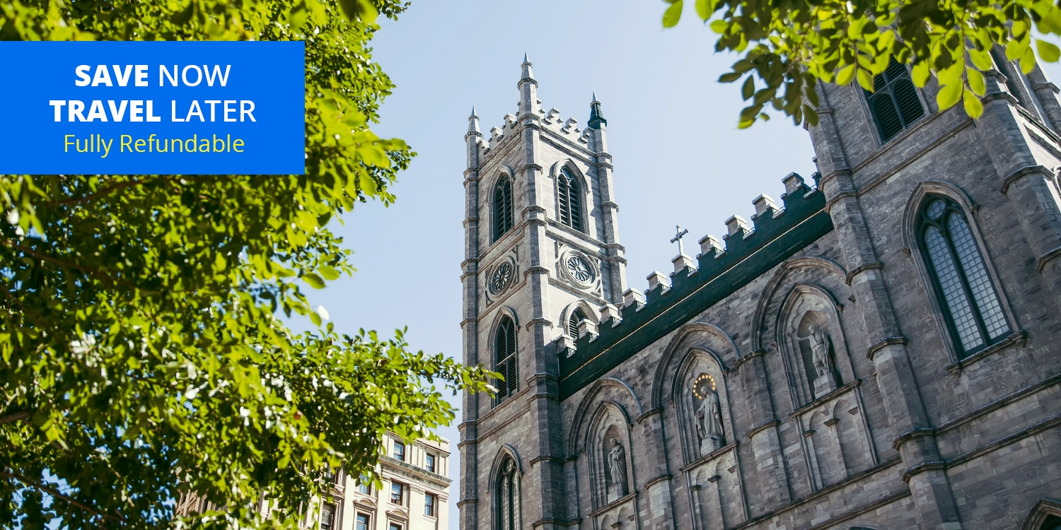 $94 – Old Montreal Stays thru May w/Breakfast, Parking & Extras, 55% Off -- Montreal, Canada