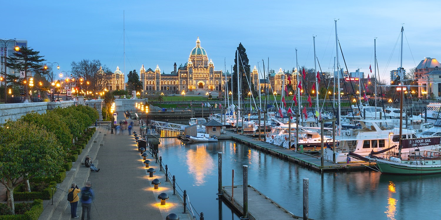 $113 – Victoria Hotel Stay with Harbour Views, 30% Off -- Victoria, British Columbia
