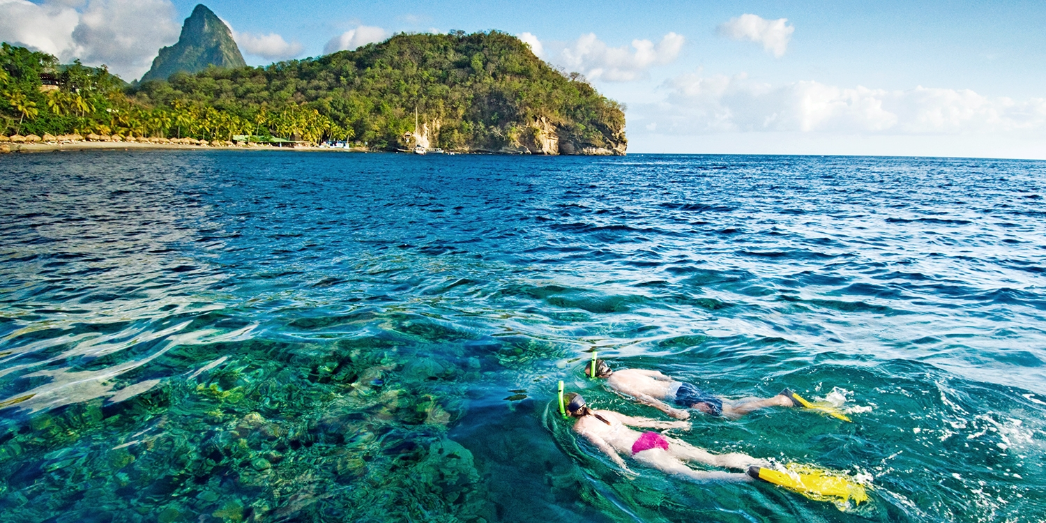 Anse Chastanet, St. Lucia -- Soufriere, St. Lucia