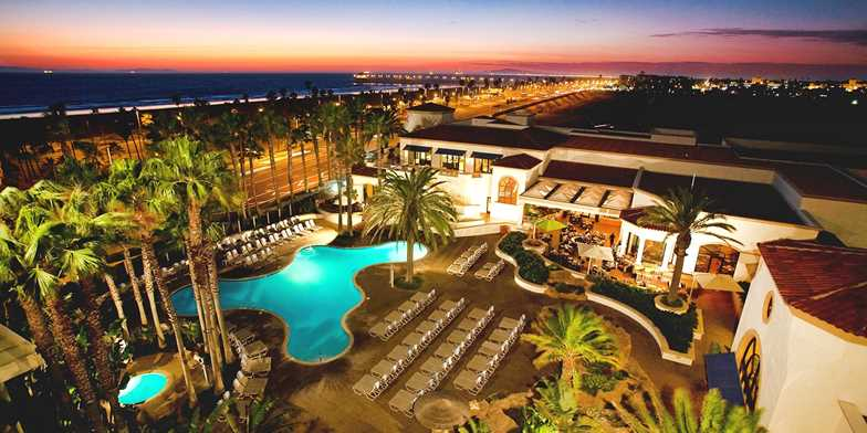 The Waterfront Beach Resort A Hilton Hotel Huntington Ca