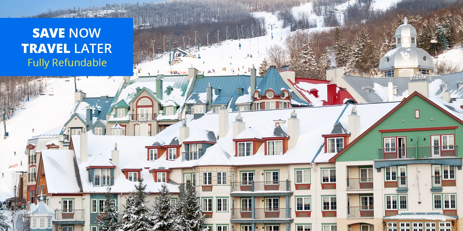 $135 & up – Mont-Tremblant Suite Stays w/Parking & Breakfast, Reg. $224 -- Mont Tremblant, Quebec