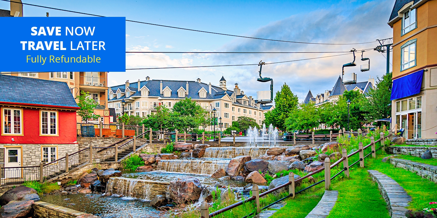 $165 & up – Mont-Tremblant Suite Stays incl. Breakfast, up to 35% Off -- Mont Tremblant, Quebec
