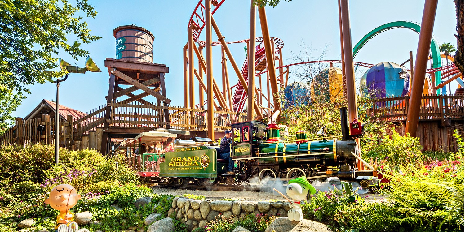 Knott\'s Berry Farm Day Pass, 50% Off | Travelzoo