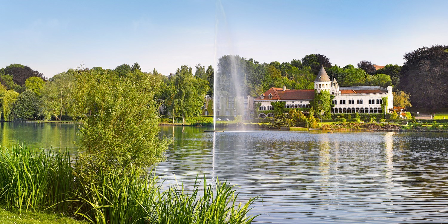 $156 & up – Lakeside castle stay near Brussels, 68% off -- Genval, Belgium