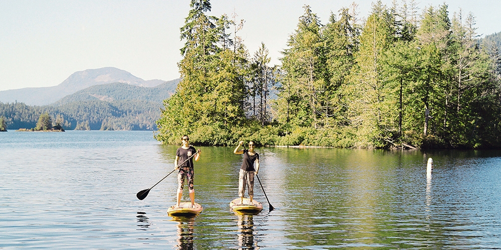 $95 – Glamping & Paddleboarding on Sunshine Coast, 55% Off -- Madeira Park, BC