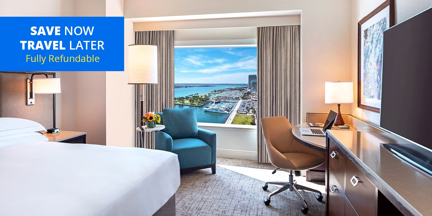 $99 & up – Waterfront San Diego 4-Star Hilton, Save 40% -- San Diego, CA