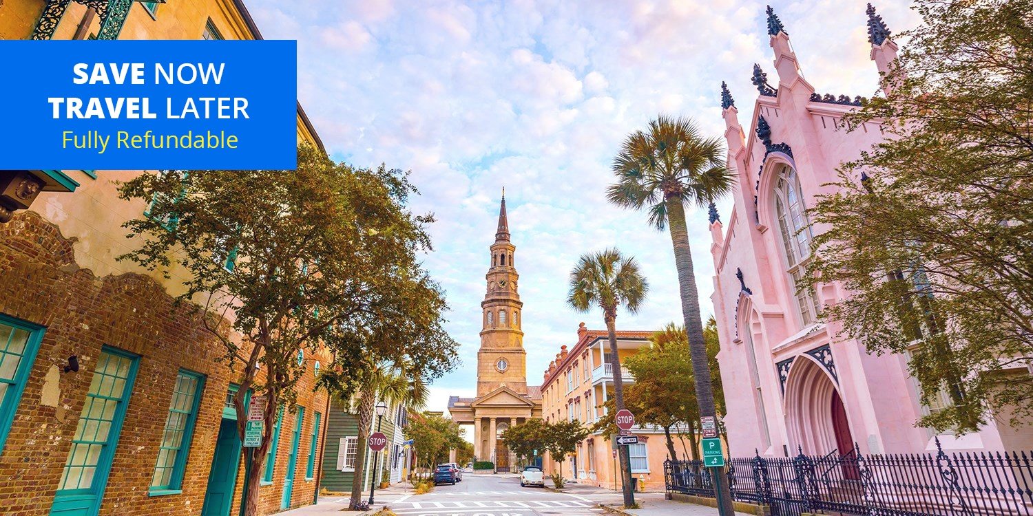 $149 – Member-Favorite Charleston Stay w/$50 Credit -- Charleston, SC