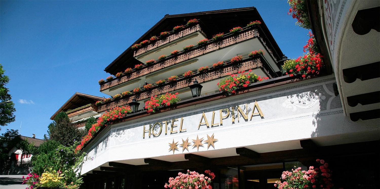 Hotel Alpina  -- Klosters-Platz, Schweiz
