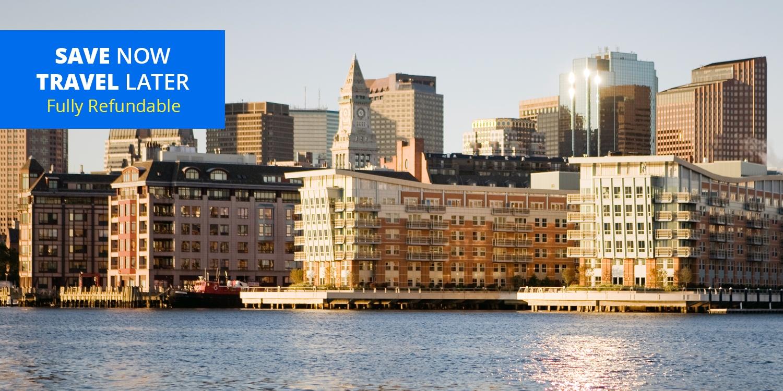 £108& up – Boston 4-Star Waterfront Hotel into Spring -- Boston, MA