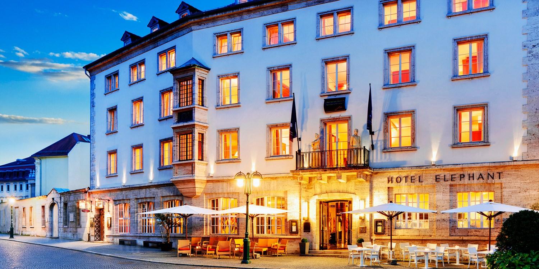 129€ – Wohnen wie Goethe: Hotel in Weimar mit Dinner, -53% -- Weimar