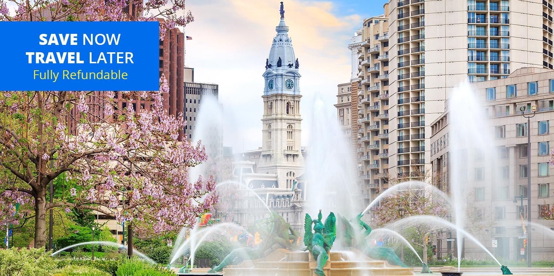 $119 – Philly in Summer: Center City Hotel w/Breakfast -- Philadelphia, PA