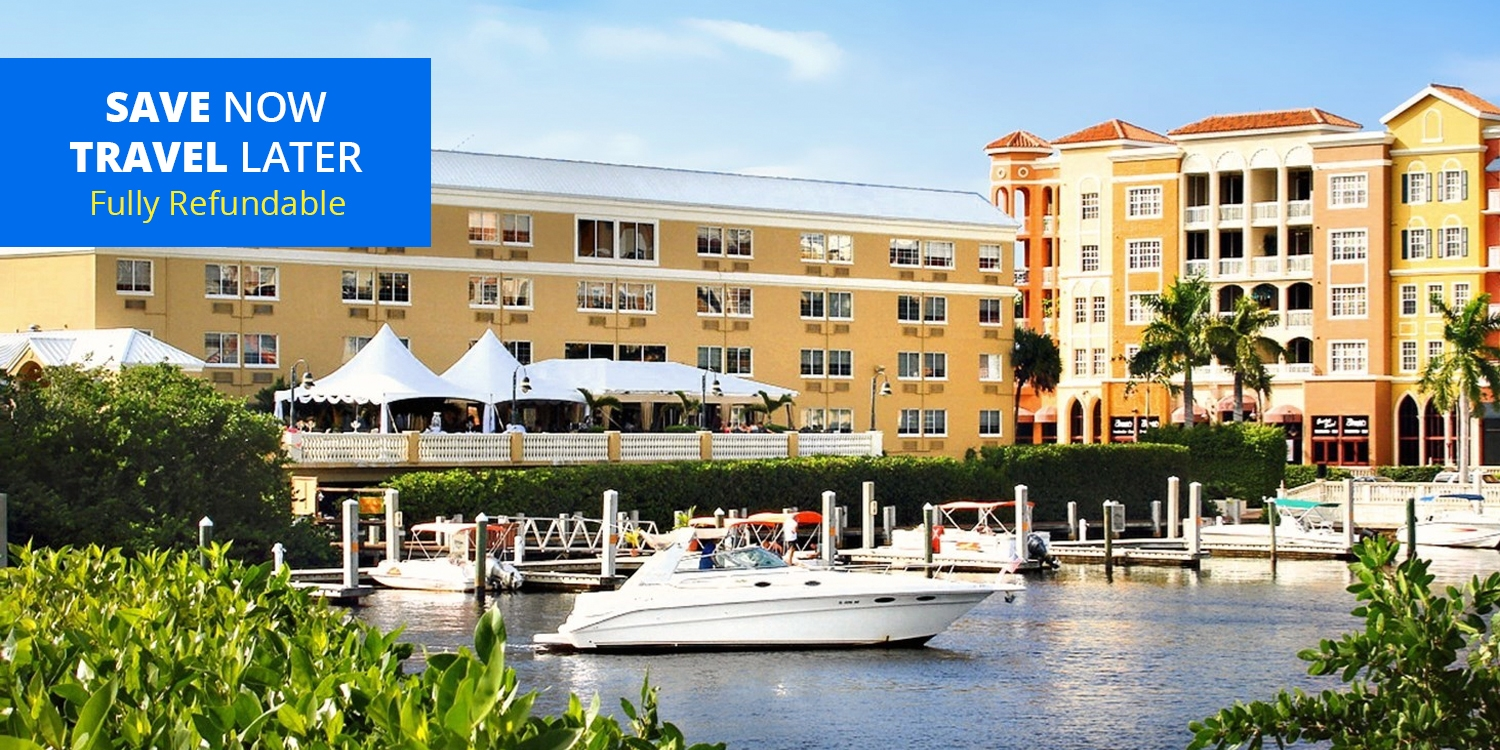 £106 & up – Florida: Naples Waterfront Hotel incl. Weekends -- Naples, FL