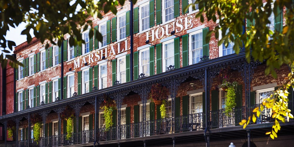 The Marshall House,Historic Inns of Savannah Collection -- Savannah, GA