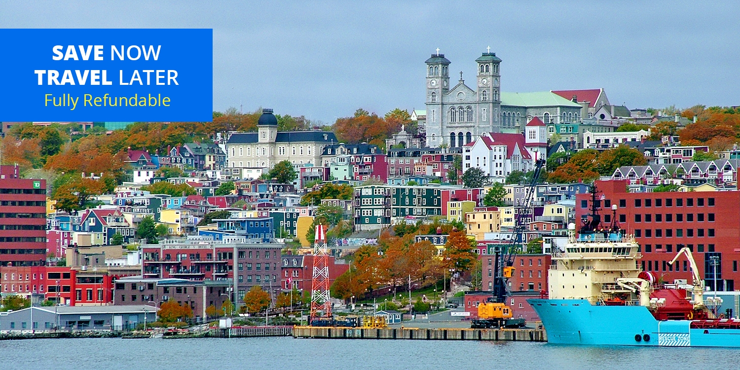 $83 – Stays in St. John's incl. Parking & Harbour Views, Reg. $142 -- St John's, Canada