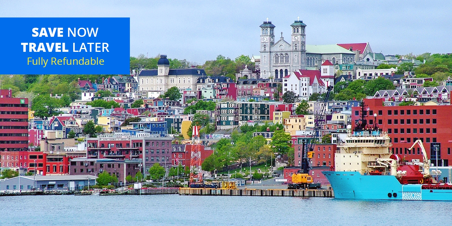£72 – Stays in St. John's incl. Parking & Harbour Views, Reg. £158 -- St John's, Canada